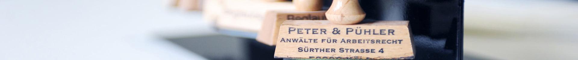 Peter und Pühler Banner