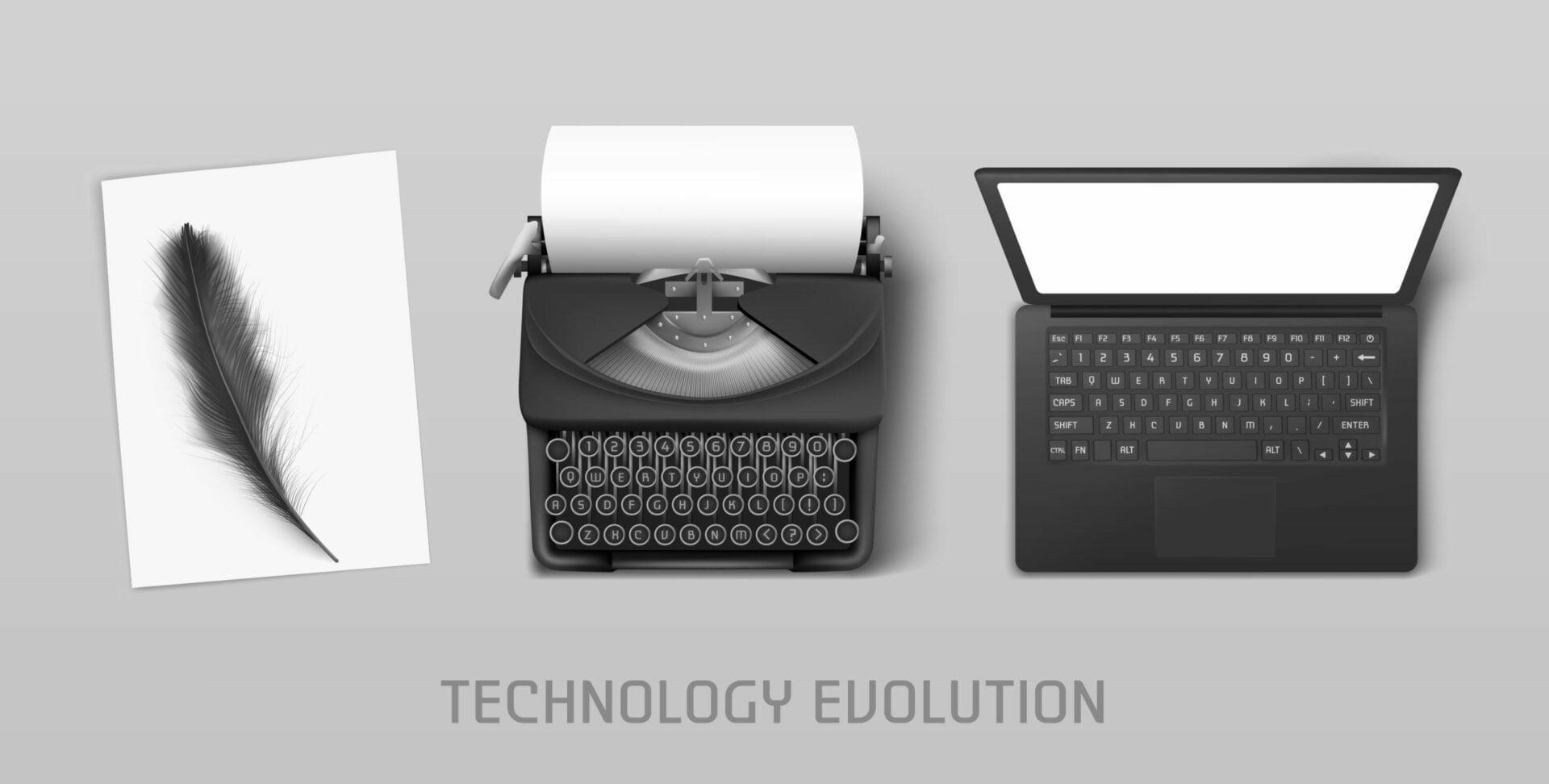 Die Evolution des PCs: Vom Rechenschieber zum Laptop! / Vom Altertum in die Zukunft!